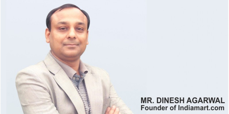 Dinesh Agarwal Story of Dinesh Agarwal the man behind Indias second largest B2B
