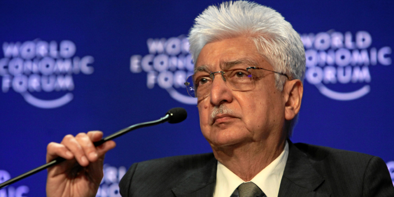 Azim Premji, Indian, IT, entrepreneur, Wipro