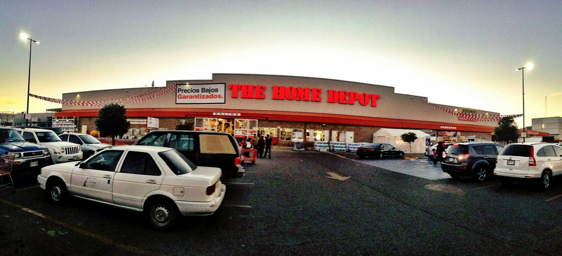 The Home depot, The home depot expansion,  home depot, home improvement store, construction depot