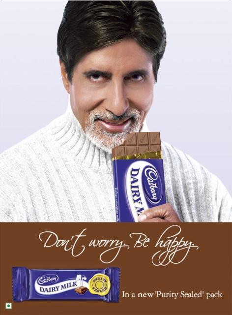 brand, ambassador, amitabh bachchan, cadbury, india